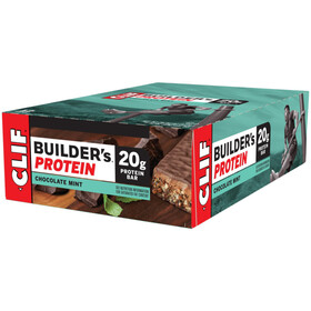CLIF Bar Builder's Protein Bar Caja 12x68g, Chocolate Mint